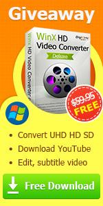 WinX HD Video Converter free