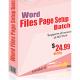 Word File Page Setup Batch