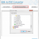 Convert EML file to PDF format