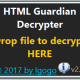 HTML Guardian Decrypter
