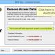 Remove Password from MDB