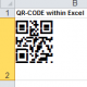 QR Code | Data Matrix 2D Font for Excel
