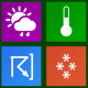 Icons-Land Metro Weather Icon Set