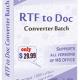 RTF TO DOC Converter Batch