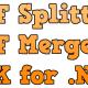 PDF Splitter and Merger SDK for .NET