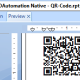 Crystal Reports QR Code Barcode