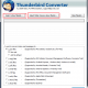Import Thunderbird to Live Mail