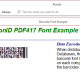PrecisionID PDF417 Barcode Fonts