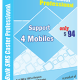 Bulk SMS Caster Professional