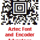 Aztec Font and Encoder Suite