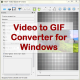 VeryUtils Video to GIF Converter