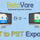 Betavare Export OST File