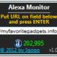 Alexa Monitor