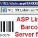 Streaming Linear Barcode Server for IIS