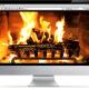 Relaxing Fireplace Screensaver