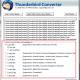 Convert Thunderbird to Windows Live Mail