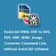 VeryUtils DWG to SVG Converter Command Line