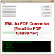 VeryUtils EML to PDF Converter