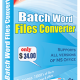 Batch Word File Converter