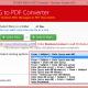Batch Conversion MSG to PDF