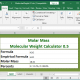 Molar Mass / Molecular Weight Calculator