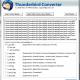 Convert Thunderbird emails to EML