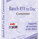 Batch RTF to Doc Converter