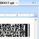 Crystal Reports PDF417 Barcode Generator