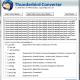 Convert Thunderbird Mailbox to PST