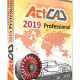 ActCAD 2019 Professional 64 Bit