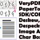 VeryPDF PaperTools SDK